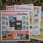 Office Depot Office Max Walgren back to school ads