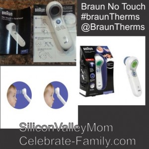 Braun No Touch thermometer