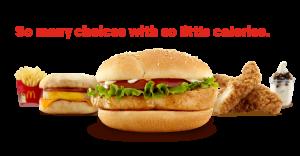 McDonald's Menu Choices Under 400 Calories