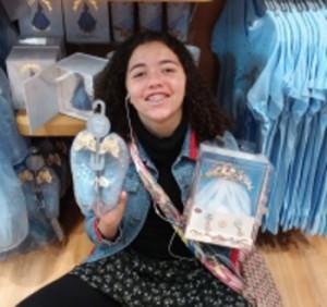 My Disney Princess Loves the Tiara & Veil from Cinderella