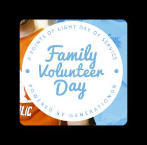 Family Volunteer Day 11/21/2015
