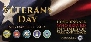 Veteran's Day Discounts 2015