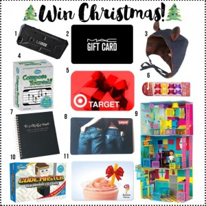 Win Christmas with this blogger giveaway