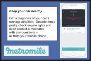 MetroMile Car Diagnosis App