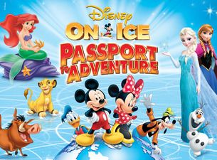 Disney On Ice presents Passport to Adventure at SAP Center, Oct 19 – 23 , 2016 and Oracle Arena in Oakland Oct 26 – 30, 2016.