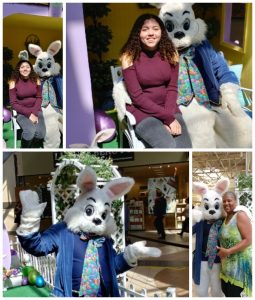 Easter Bunny Pictures at the Great Mall in Milpitas