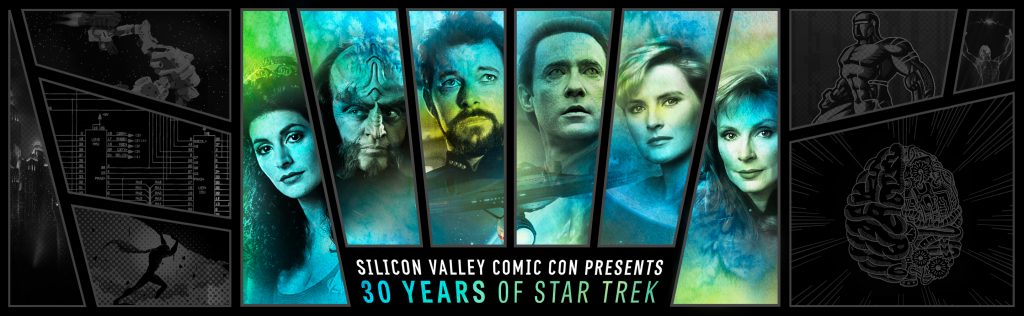 Star Trek Cast at Silicon Valley Comic con