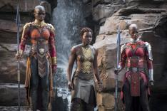 The women of Black Panther's Wakanda. Source Disney