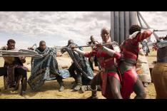 Black Panther - the Border tribe vs the Dora Milaje