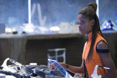 Letitia Wright as Shuri in Black Panther. Source Disney