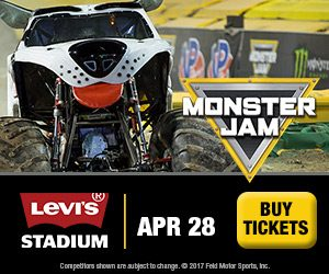 Monster Jam comes to Levi's Stadium in Santa Clara April 28, 2018