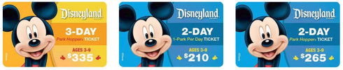 Save money on Disneyland Tickets with Target's RedCard.