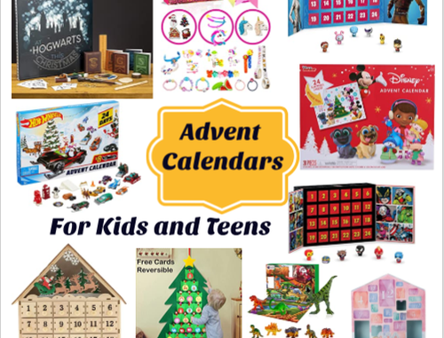25+ Advent Calendars Your Kids and Teens Will Love