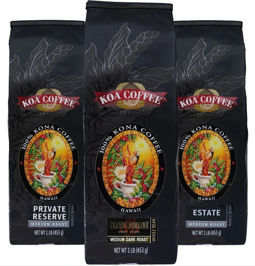 Premium Hawaiian Coffee