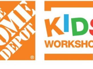 Home Depot Kids Workshop Dates for 2021