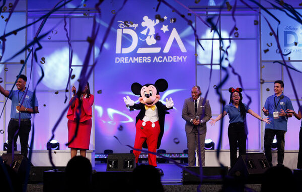 Apply now for Disney Dreamers Academy. Applications due by October 31, 2021.